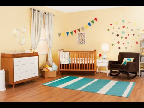 Tiffani Thiessen's Skip*Hop Nursery Design! - YouTube