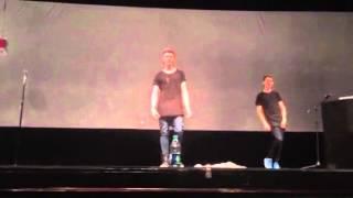 Dance Off w/Collins and Devan Key