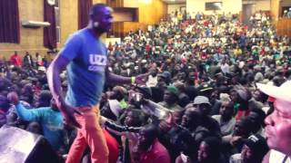 LOURENA NHATE NA AFRICA DO SUL SHOW 2017