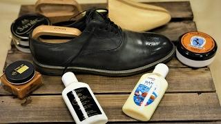 видео Как правильно ухаживать за кожаной обувью