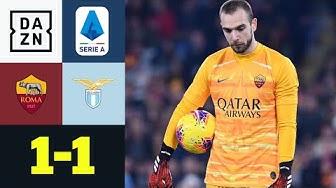 Lopez-Bock sorgt für Remis im Derby della Capitale: Roma - Lazio 1:1| Serie A | DAZN
