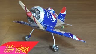 home made helicopter with motor 9V - How to make RC Helicopter DIY