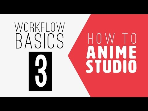 How to Anime Studio: Workflow Basics: Character Animation: Episode 3