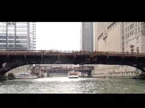 W. Madison St Bridge, Chicago, IL -- a narrated tour