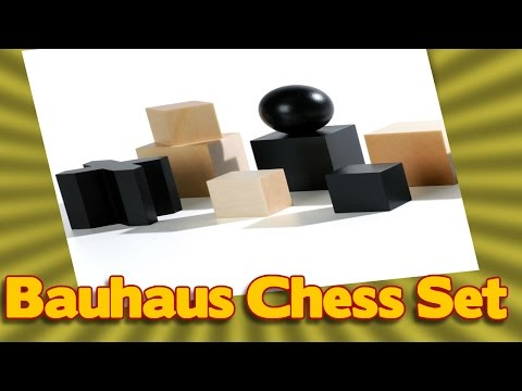 Naef Bauhaus Chess Set  Josef Hartwig's chessmen for sale on Amazon