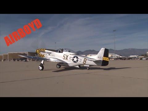 P-51 Heritage Flights Davis-Monthan AFB