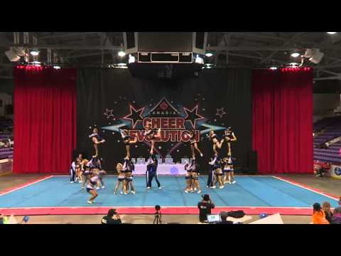 CE Winterfest 2014 - IO4.2 - CheerForce WolfPack