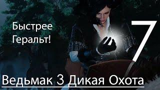 Ведьмак 3 Дикая Охота Прохождение на ПК Часть 7 Грифон убит и Йенифер (1080p 60fps)