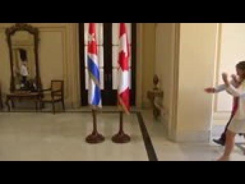 Cuba And Canada FMs Meet In Havana Over Venezuela