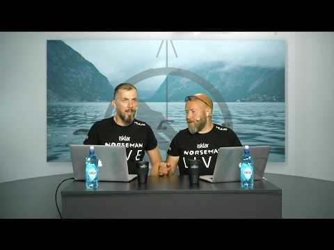 LIVE Isklar Norseman Xtreme Triathlon 2018 (Part 1)