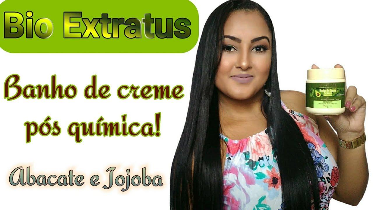 Bio Extratus Banho De Creme Pos Quimica Abacate E Jojoba Resenha