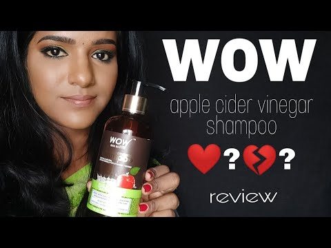 wow apple cider vinegar shampoo review