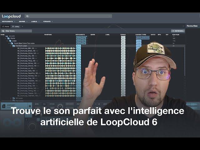 Trouve le son parfait avec l'intelligence artificielle de LoopCloud 6 - [Mixage en Home Studio]