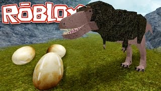 T.Rex and The Eggs! - Roblox Dinosaur Simulator