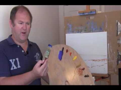 Oil Painting Lesson with Rod Moore – Part 3 Painting Sky