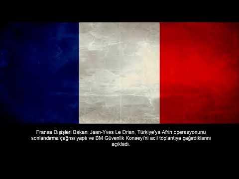 Ülkelerin Afrin(Zeytin Dalı) Operasyonu Açıklamaları
