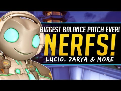 Overwatch Biggest Patch EVER - Major Nerfs and Buffs - Full Breakdown and Impacts thumbnail