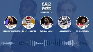 UNDISPUTED Audio Podcast (02.26.19) with Skip Bayless, Shannon Sharpe & Jenny Taft | UNDISPUTED thumbnail