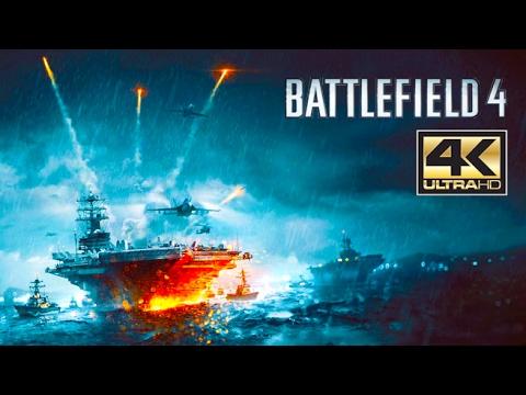 "ᴴᴰ Battlefield 4 PC: ""South China Sea"" 【4K 60FPS】【NO HUD】【ULTRA SETTINGS】"