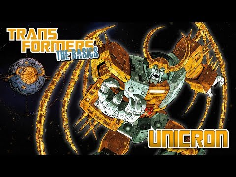 TRANSFORMERS: THE BASICS on UNICRON