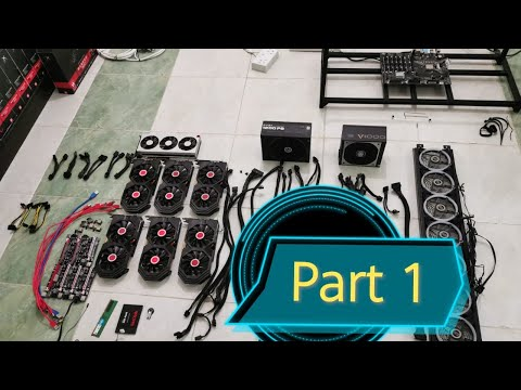 How to build crypto GPU mining rig | step by step | PHILIPPI