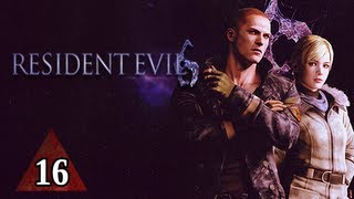 Resident Evil 6 Walkthrough - Part 16 Jake & Sherry Campaign Let