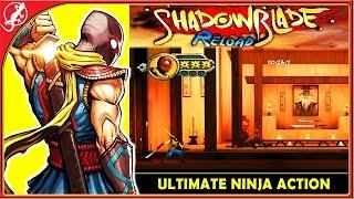 Shadow Blade Reload : Ultimate Ninja Action ! (iOS Gameplay)