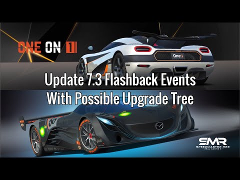 Real Racing 3 Update 7.3 Flashback Events With Possible Upgrade Tree RR3