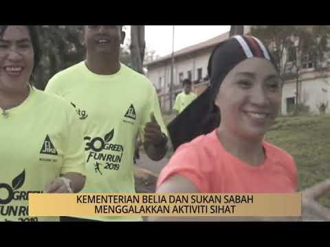 Khabar Dari Sabah: Kelainan Larian Amal Go Green