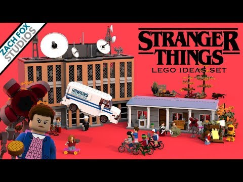 stranger things lego set