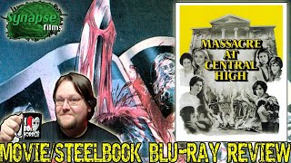 MASSACRE AT CENTRAL HIGH (1976) - Movie/Limited Edition Steelbook Blu-ray Review (Synapse Films)