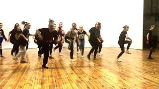 Hip-hop basics workshop by Tanusha at Brooklyn Dance School