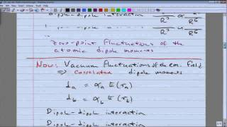10. van der Waals and Casimir interactions