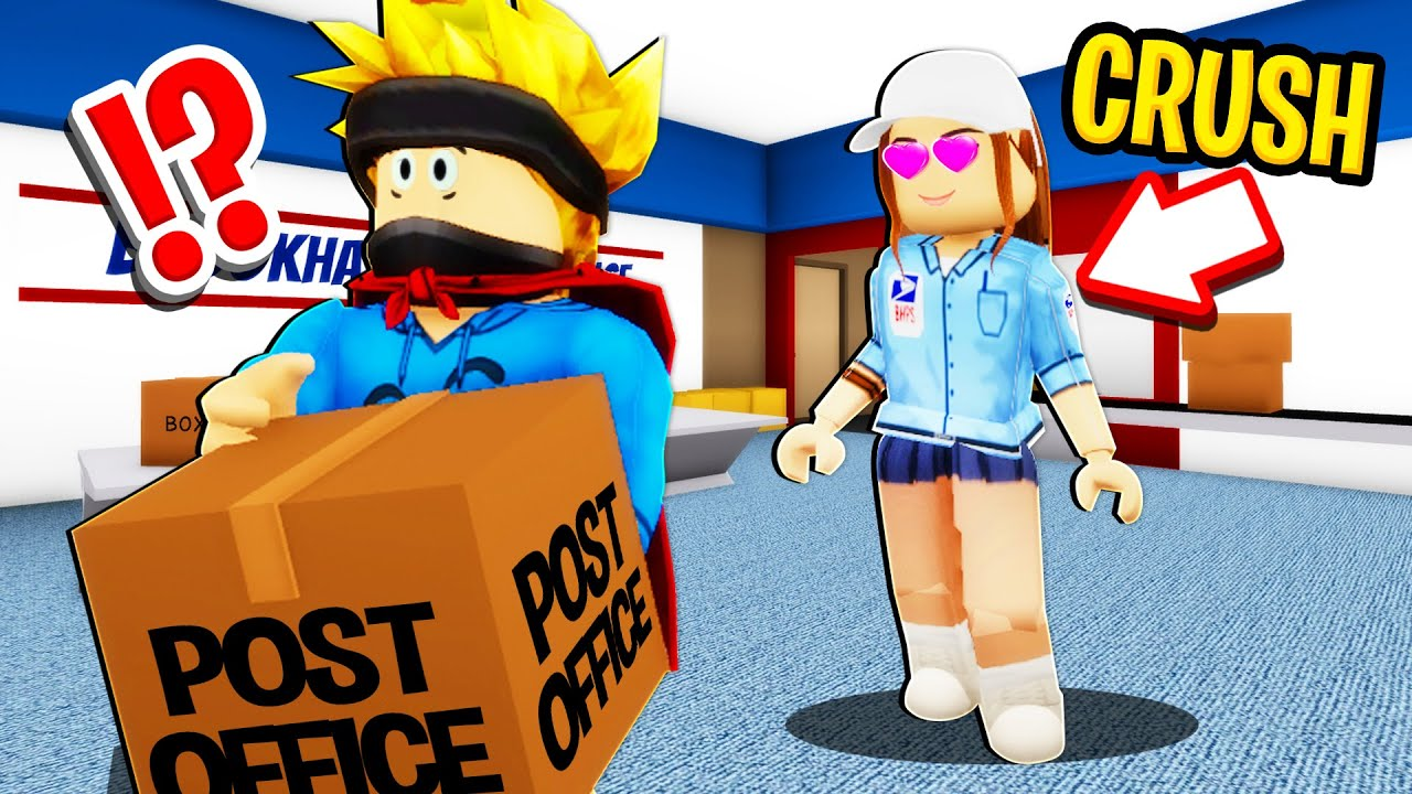 Download I Worked at the Post Office.. Owner Had a CRUSH on me in Roblox BROOKHAVEN RP!!