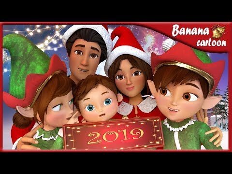 We Wish You A Merry Christmas AND HAPPY NEW YEAR 2019  | Nursery Rhymes & Kids Songs [HD]