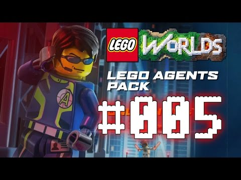 LEGO WORLDS PART 5 - AGENTS DLC PACK, Chase, Dr. Inferno| Let´s Play Lego Worlds PS4 Deutsch