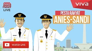 LIVE: Pesta Rakyat Gubernur Baru DKI Jakarta