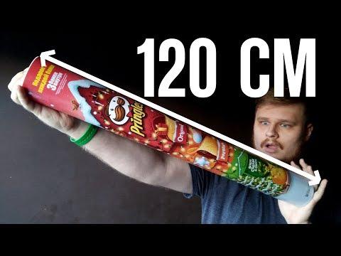 Огромный принглс 120 см! Big Pringles Not DIY!