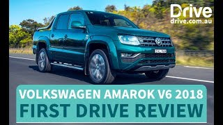Volkswagen Amarok V6 Ultimate 2018 First Drive Review | Drive.com.au