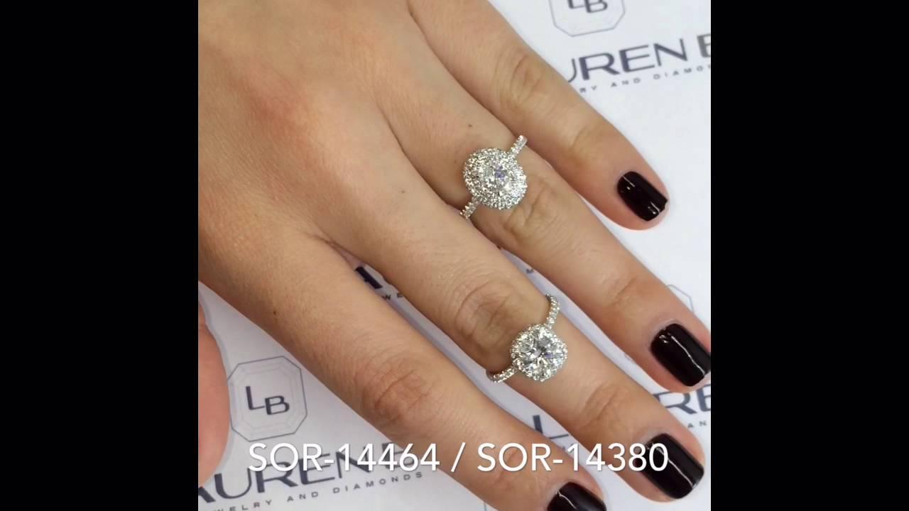 Carat Oval Diamond Ring On Hand