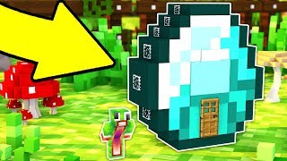 HOW TO LIVE INSIDE A DIAMOND IN MINECRAFT! thumbnail