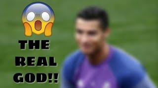 C.RONALDO the god of football