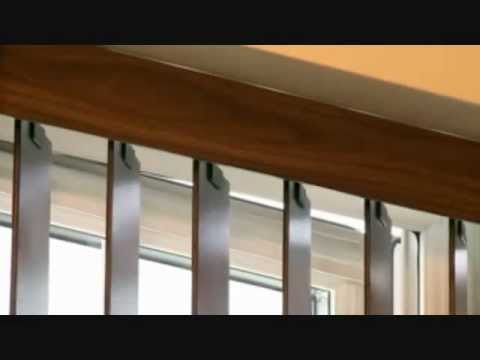 Luxury Real Wood Vertical Blinds - made to measure Blinds