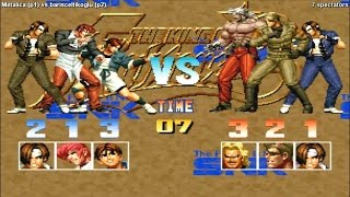 Fightcade - King of Fighters 95 online casual match - Metalica (CAN) vs. barisceltikoglu (TUR)