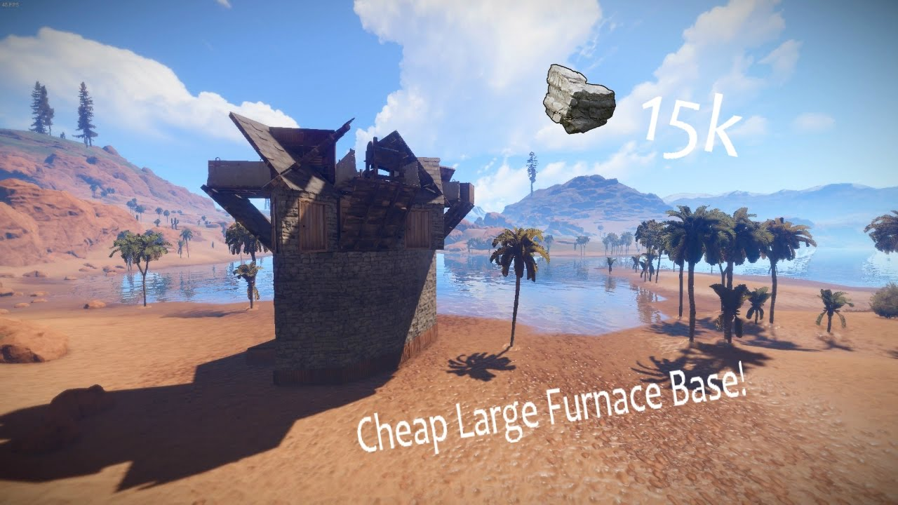 how to build a furnace in rust