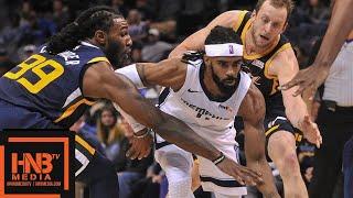 Utah Jazz vs Memphis Grizzlies Full Game Highlights | 11.12.2018, NBA Season