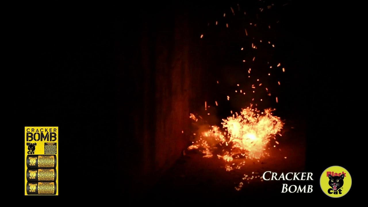 Cracker Bomb - Black Cat Fireworks