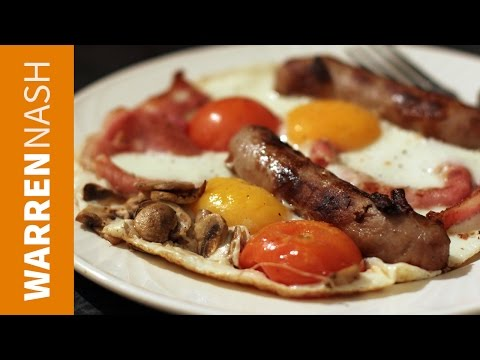 Fry up breakfast omelette - Recipes by Warren Nash