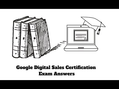 Google Digital Sales Certification Answers 2019 🔴LIVE Exam