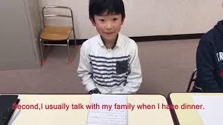 川越教室の英語クラスに通っている小学生です。 英語を理解する力、英語...